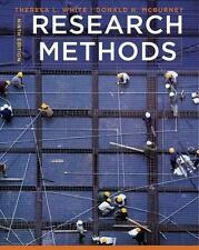 Research Methods by White, Theresa L.; McBurney, Donald H.