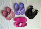 CROCS - Womens FLIP THONGS with Strap - Ladies Sizes 4 to 8 Choose Colour - NEW