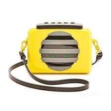 Marc by Marc Jacobs Outloud Cassette Clutch Crossbody Disco Yellow Purse $348NWT