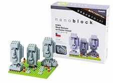 Moai Statues of Easter Island Nanoblock Miniature Building Blocks New NBH009