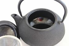 Cast Iron Enamel Tea Kettle Pot