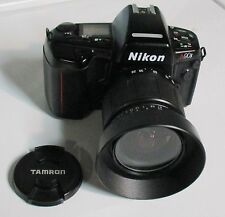 Nikon N90S camera with 28-80 Tamron Aspherical lenses and MF-26 multicontrol