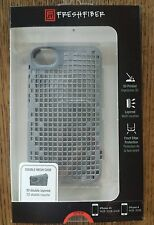 FRESHFIBER DOUBLE MESH CASE FOR IPHONE 4/4s Grey 3D PRINTED 74041504 BRAND NEW