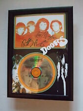 DOORS   SIGNED FRAMED GOLD CD  DISC  one off