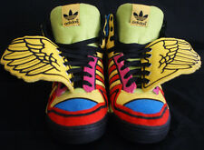 ADIDAS Wings JEREMY SCOTT Sun Rainbow Poppy G61380 Size 6.5, Authentic!!!