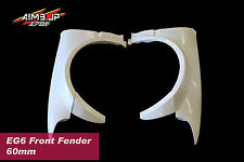 Aim9 Honda Civic EG6 Front Fenders 67mm Frp Race Drag Racing Wide EJ