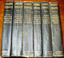 1916 1917 1918 1919 1920 Automobile Engineering Truck Tractor Cycle 6 Vol Steam
