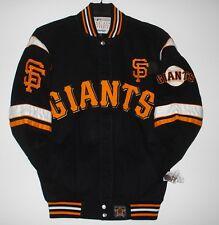 SIZE XXXL MLB ST FRANCISCO GIANTS  COTTON TWILL EMBROIDERED JACKET JH Design 3XL