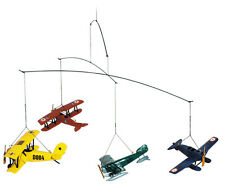Authentic Models Flight 1920 Airplane Hanging Baby Mobile Nursery Decor