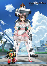 Robotics Notes Maid and Robot Poster Wall Scroll (27.8 x 19.7 inches) MINT