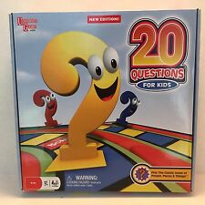20 Questions For Kids Board Game University Games Family Night Educational Fun