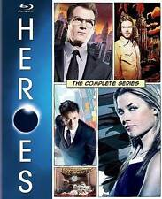 Heroes: The Complete Series (Blu-ray Disc, 2015, 18-Disc Set)