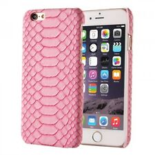 For Apple iPhone 6s/6 PINK Snake Skin Executive Case Cover