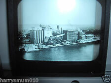 Glass magic lantern slide Canadian Pacific railways river scene 1920 s?
