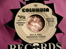 BILLY JOEL~GOODNIGHT SAIGON~RARE PROMO~NEAR MINT~COLUMBIA 38-03780~ POP 45