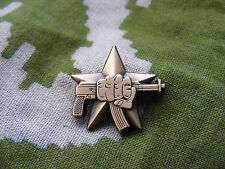 Original Russian Spetsnaz Special Forces AK & Fist Badge Pin, Brand New!