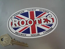 "ROOTES Classic Car STICKER 4.5"" Sunbeam Talbot Humber Hillman Singer Commer"