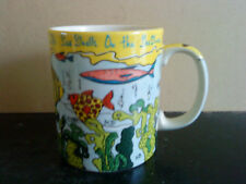 Paul Cardew designer Mug, She sells sea shells on the sea shore design.