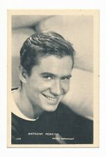1950s Biscottes Luc ANTHONY PERKINS Film Card (PSYCHO) Alfred Hitchcock Horror