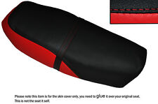 RED & BLACK CUSTOM FITS YAMAHA RSX 100 86-92 DUAL LEATHER SEAT COVER
