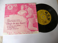 "ROSEMARY CLOONEY""DEEP IN MY HEART-disco 45 giri EP MGM Usa 1958"" OST/RARE"