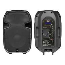 Pyle Pro Audio PPHP157AI 15' 1400W Portable Powered 2-Way Full Range Pa Speaker
