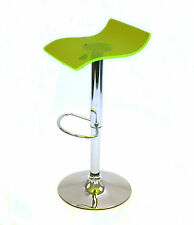 SM-7010 Florescent Green acrylic gas lift swivel bar stools, Breakfast Bar Stool