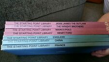 7 The Starting Point Books Wright Bros Polo James Ford France 1973 Homeschool