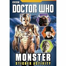 Doctor Who: Monster Sticker Activity Book, BBC