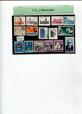16 PCS RSA SOUTH AFRICA USED STAMPS # S294