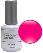 LeChat Perfect Match Gel Polish & Nail Lacquer : Neon Shocking Pink - .5oz PMS45