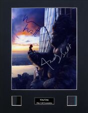 King Kong Signed Photo Film Cell Presentation