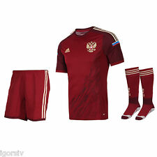 Soccer Russia National Team 2014 Home Model Limited Issue Adizero Fan Kit size L