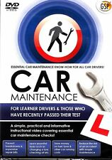 Car Maintenance for Learner Drivers (DVD) NEW SEALED
