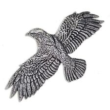 New St Justin Pewter Flying Eagle Hair Slide Barrette Clip Made in UK PH51