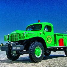 VERY RARE - FLORIDA ALLIGATOR TRAPPER 1949 DODGE POWER WAGON - First Gear