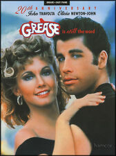 Grease is Still the Word Easy Piano Vocal Sheet Music Book 20th Anniversary Edn