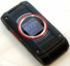 Casio G'zOne C781 Black Ravine 2 Rugged Verizon Flip Cell Phone Bluetooth GPS -C