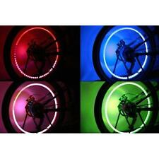 Car Bike Bicycle Wheel Tire Valve Cap Spoke Colorful LED Light Flashing Lamp
