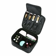 Waterproof Makeup Bag Case Portable Velcro For Cosmetic Brushes Storage Travel
