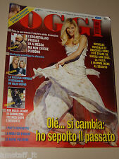 OGGI=2006/2=MICHELLE HUNZIKER=VERONICA LARIO=FORCELLA=CHRISTIAN DE SICA=PRIEBKE=