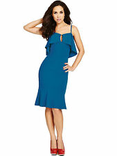 Myleene Klass Simply Fab Size 20 Deep Frill Flirty Luxury DRESS Party Be £80