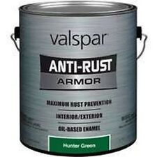 NEW GALLON VALSPAR 6394290 HUNTER GREEN ANTI-RUST INDUSTRIAL ENAMEL OIL PAINT