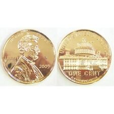 2009 PENNY ABRAHAM LINCOLN WHITE HOUSE JUMBO COIN PAPERWEIGHT NEW