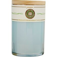 Sweetgrass & Sage Smudge Massage & Intention Soy Candle 12 oz Tumbler. For Clean