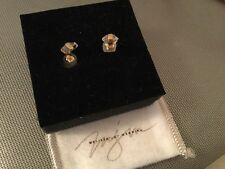 melissa joy manning. 14k gold  Hirkimer Diamond earrings