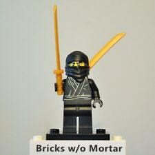 New Genuine LEGO Ninja Minifig with Two Katanas Series 1 8683