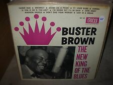 BUSTER BROWN new king of the blues ( blues ) - fire 102 - VERY RARE -