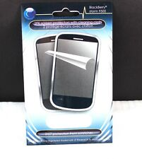 New Blackberry Storm 9500 Screen Protector 2 Pack w/Cloth NOS