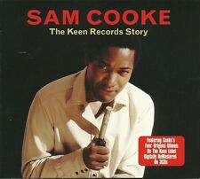 SAM COOKE THE KEEN RECORDS STORY - 3 CD BOX SET - YOU SEND ME, TAMMY & MORE